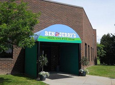 Ben & Jerry's factory in Israel