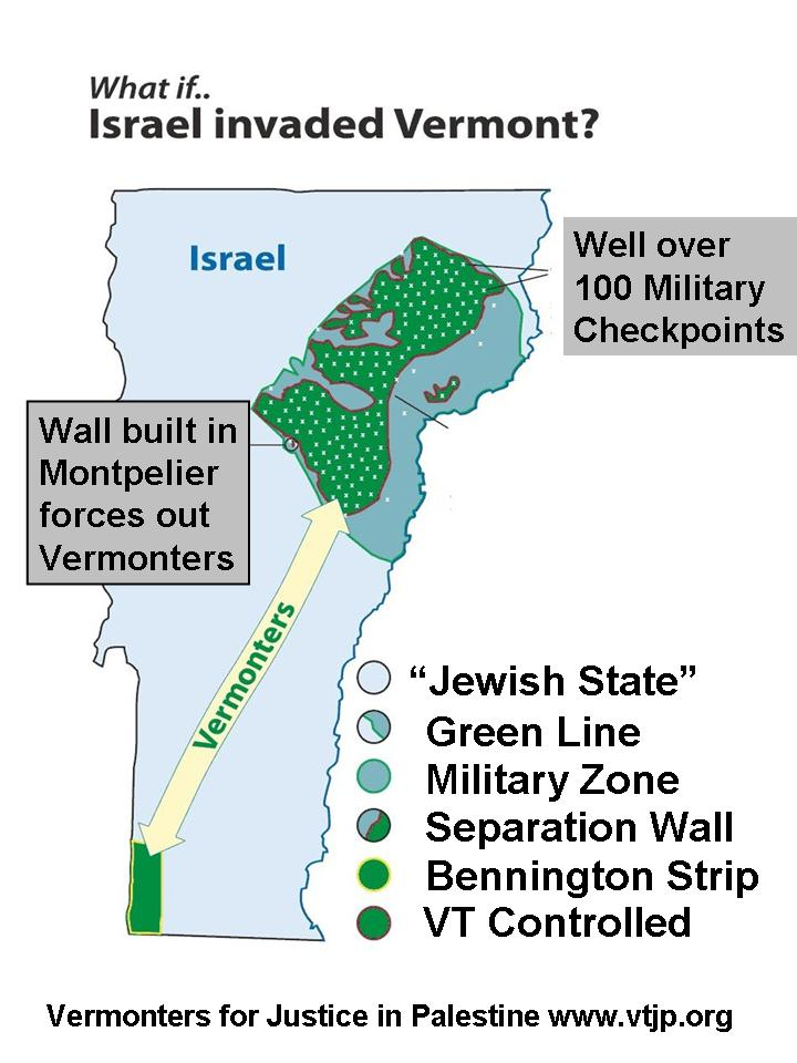 What If Israel Occupied VT